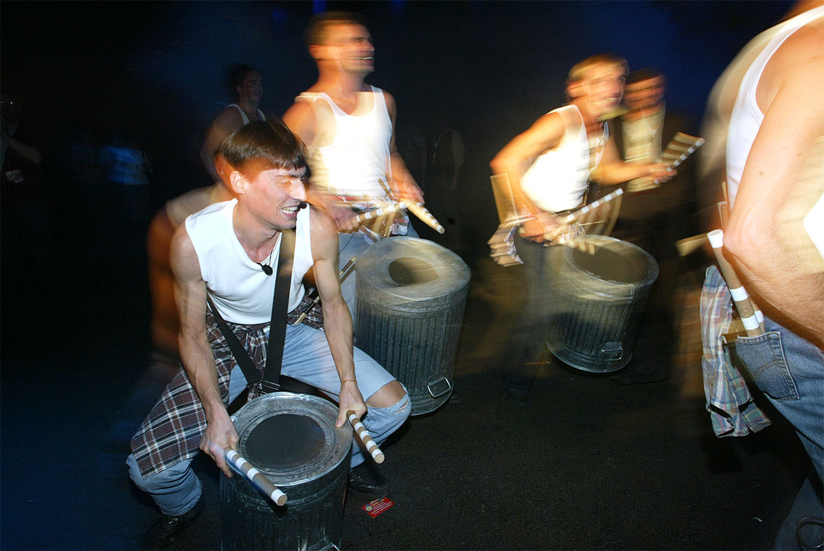 Trash Drumming 5